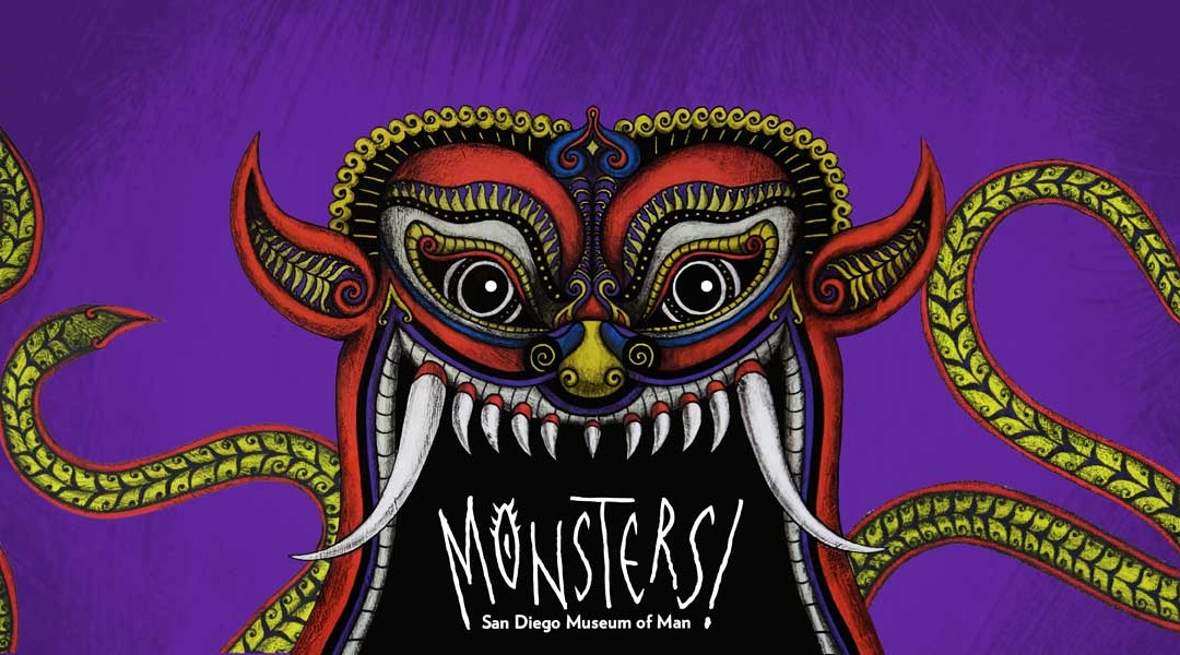 The Museum of Man's new exhibit, Monsters!