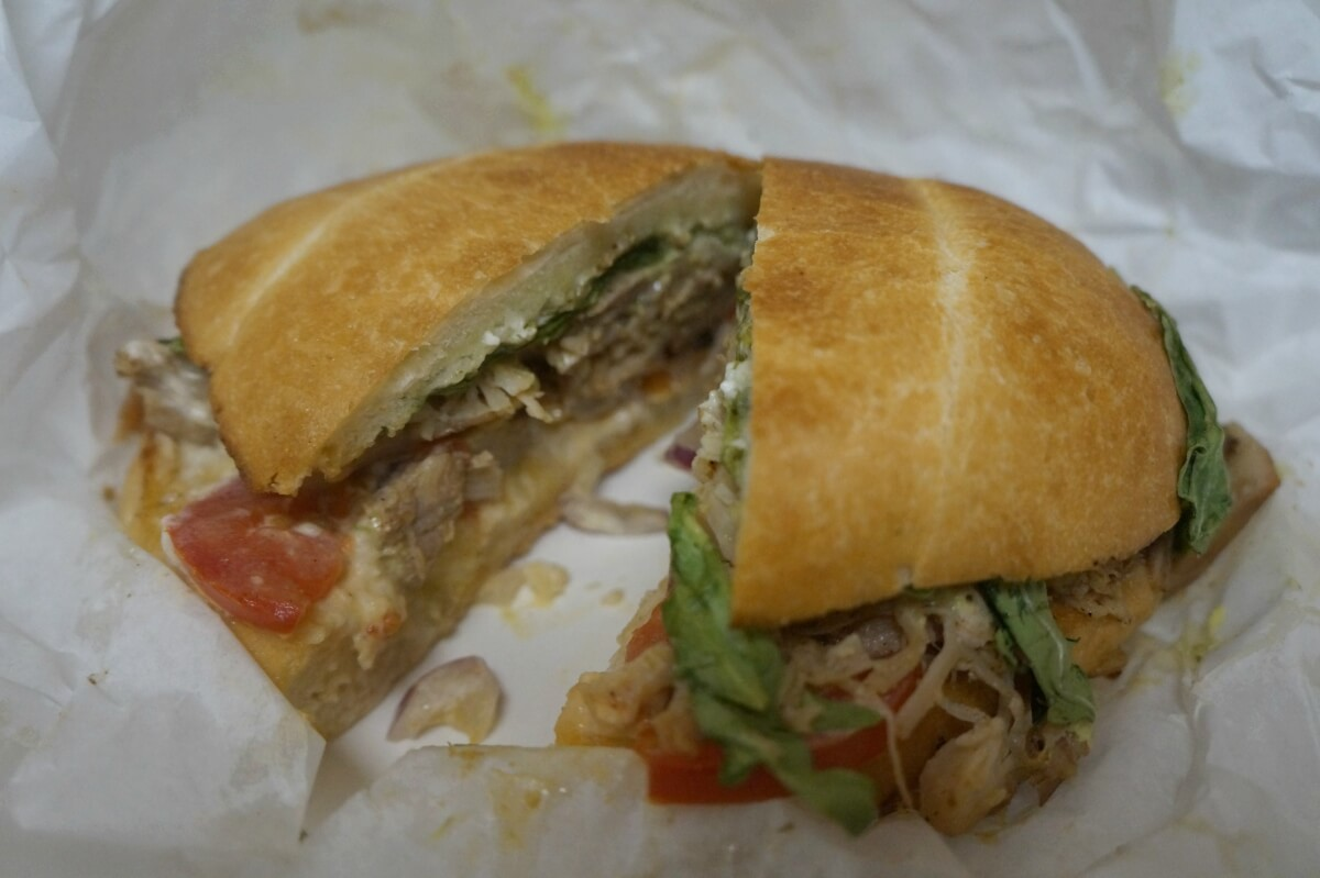 Chicken Torta Sandwich at The Whole Hog in San Diego