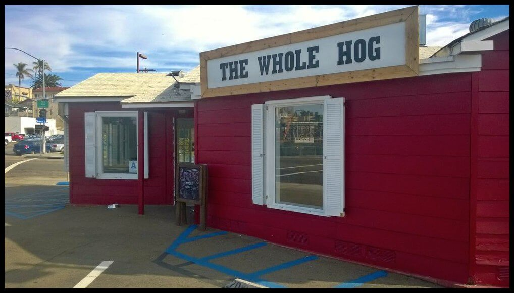 The Whole Hog Celebrates GRAND OPENING in North Park