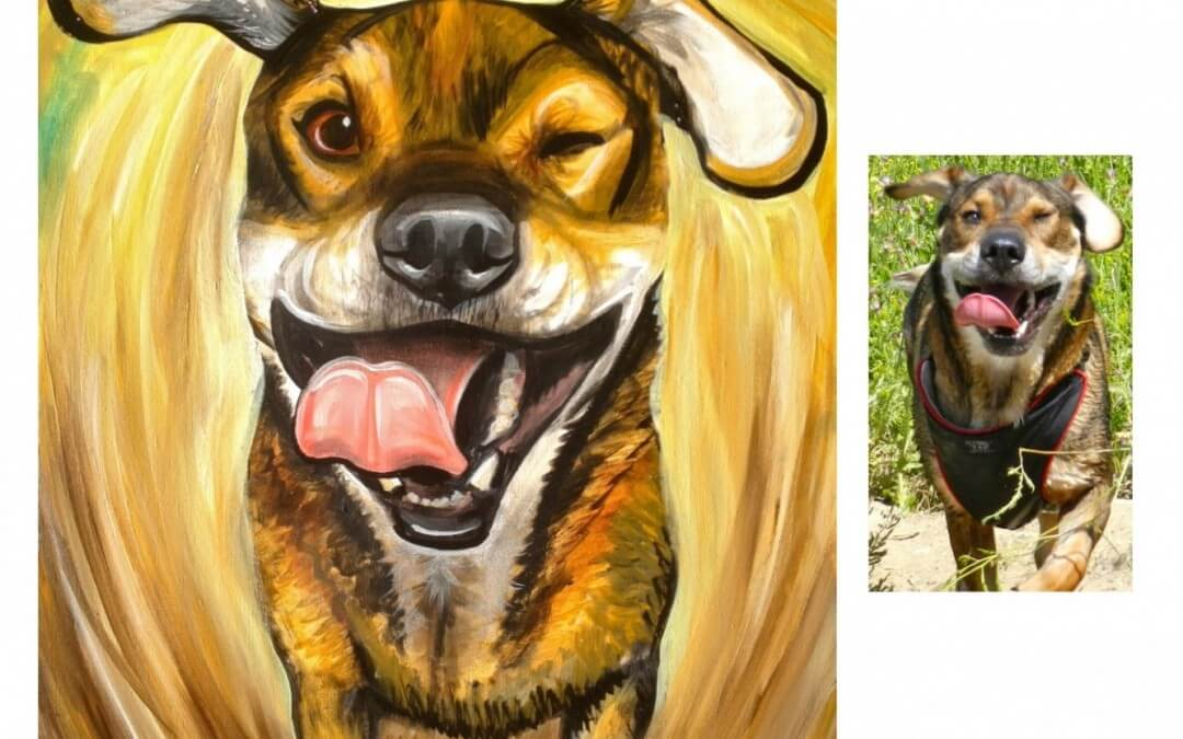 San Diego Pet Painter