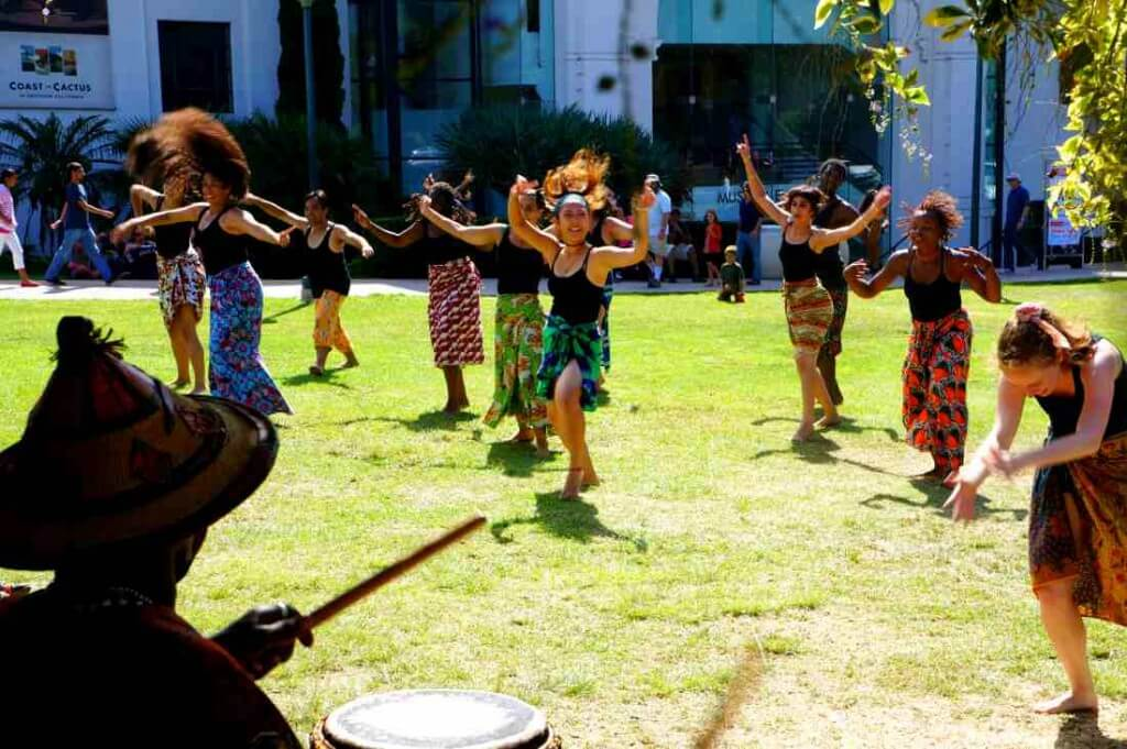Trolley Dances visits Balboa Park 2015