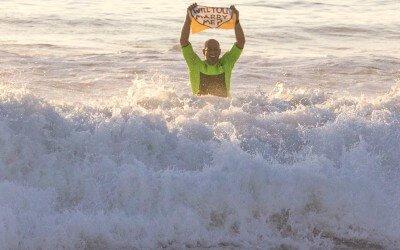 Epic Surf's Up Proposal at Windansea Beach in La Jolla