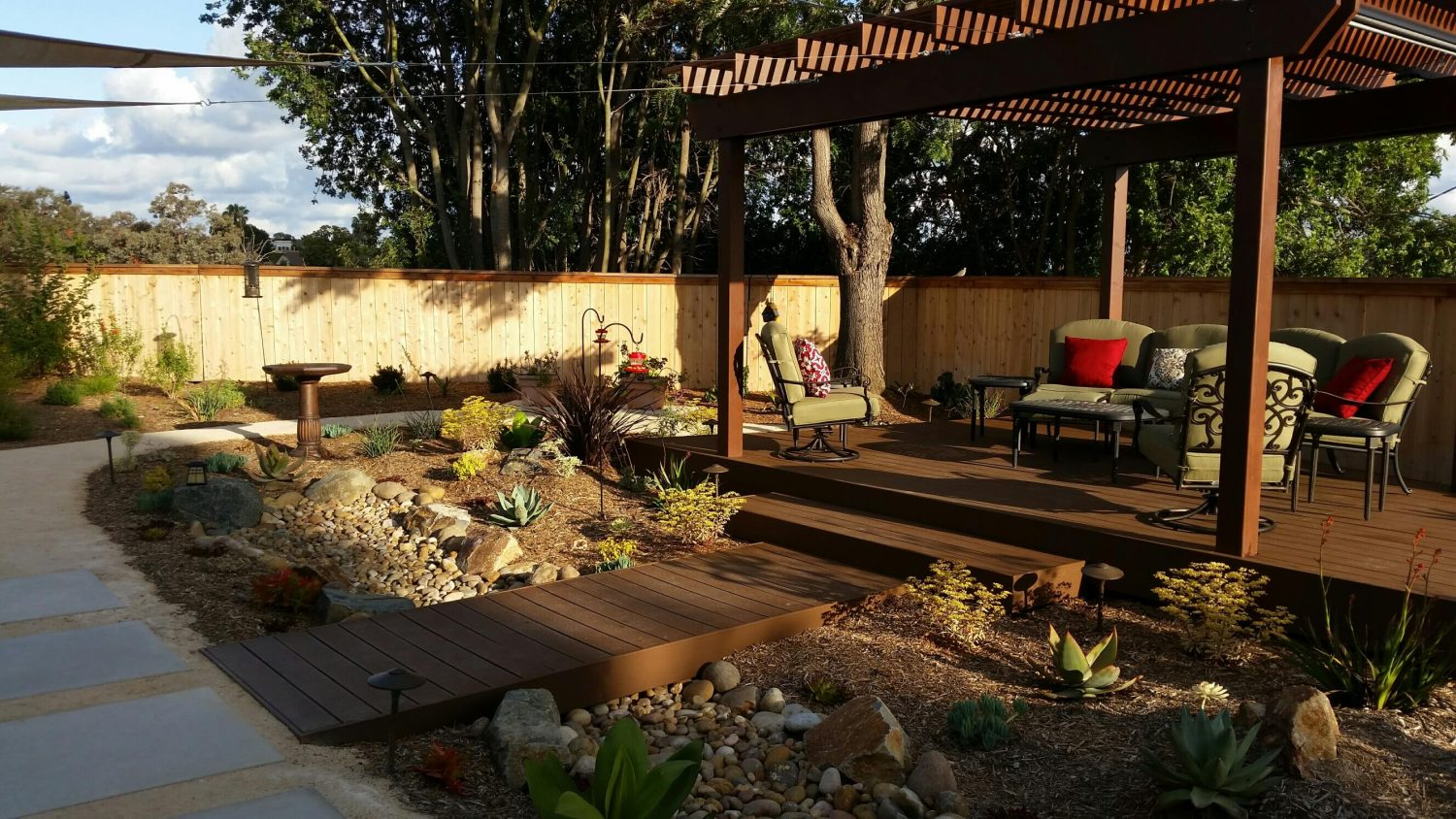 Letz Design San Diego Landscape Designer Example of Backyard