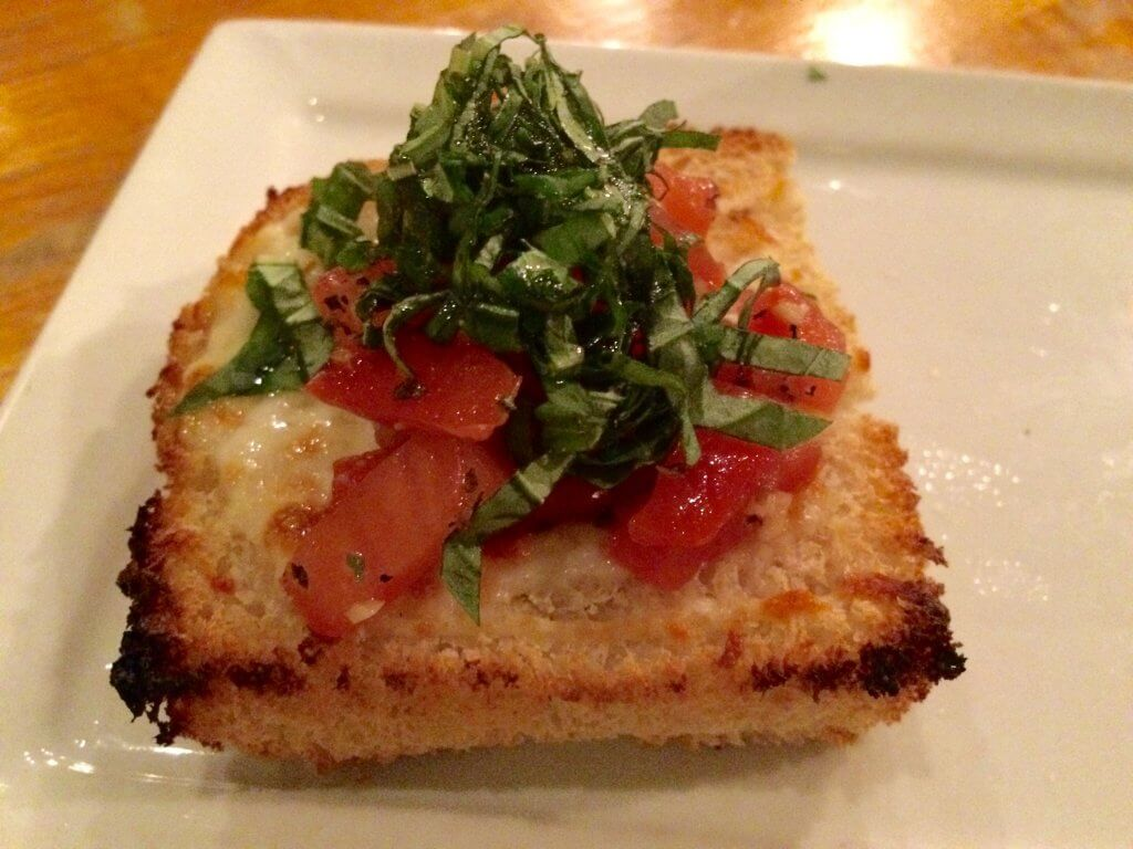 Bruschetta at The Haven