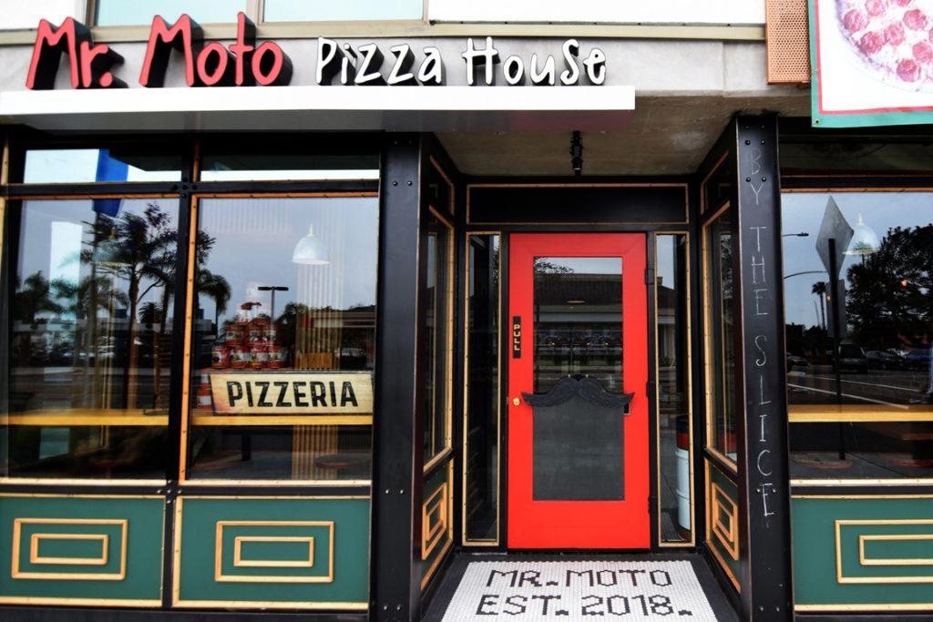 Mr Moto Pizzeria New San Diego Pizzeria
