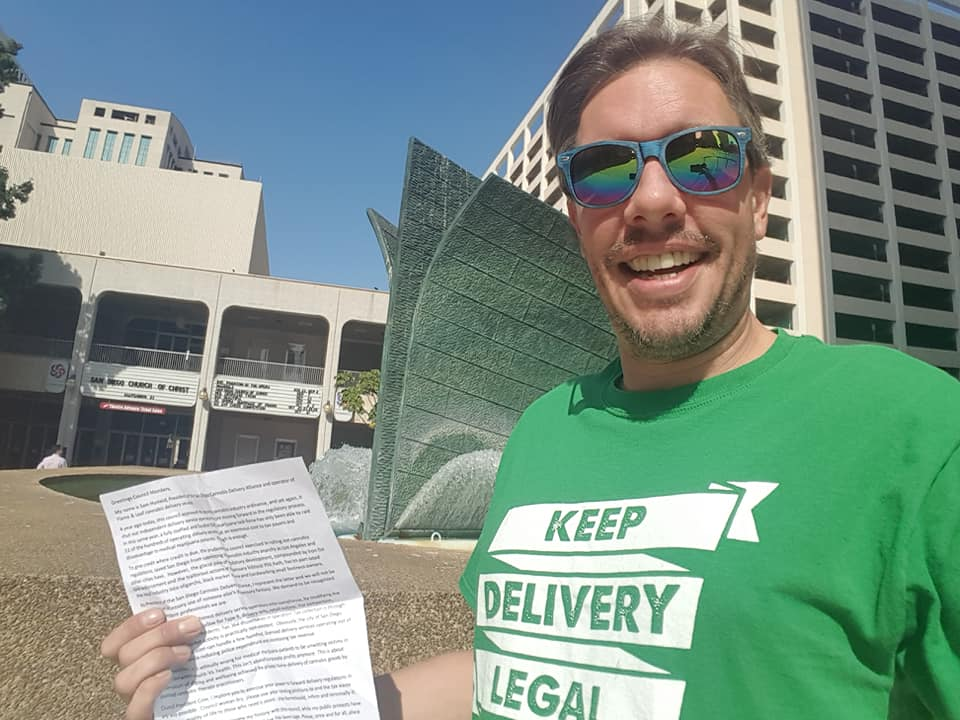 Sam Humeid SD Cannabis Delivery Alliance 2019